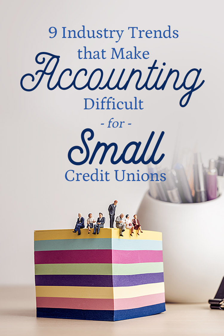 small credit union accounting trends