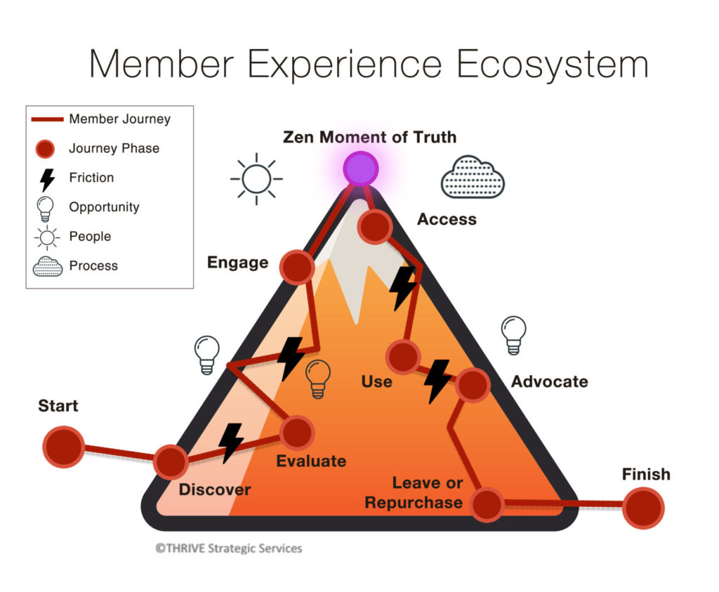 member experience ecosystem