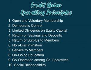 credit union principles